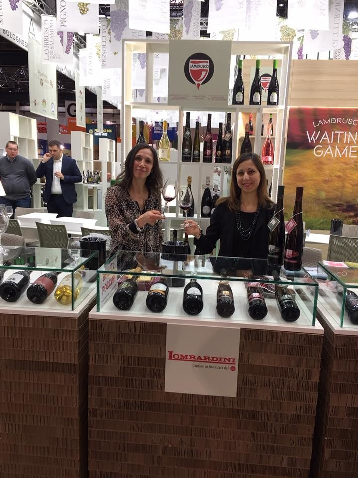 Cantine Lombardini a Prowein 2018